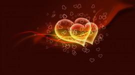 4K Little Hearts Wallpaper HQ