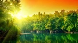 4K Rising Suns Desktop Wallpaper HD
