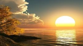 4K Rising Suns Wallpaper Download