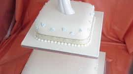 4K Wedding Cakes Wallpaper For IPhone#1