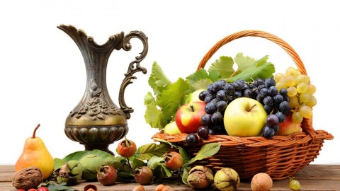 A Basket Of Fruit wallpapers high quality