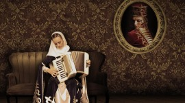 Accordionist Photo