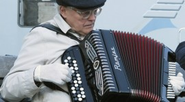 Accordionist Wallpaper For PC