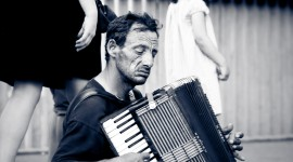 Accordionist Wallpaper Free