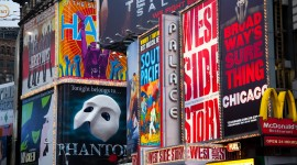 Broadway Desktop Wallpaper