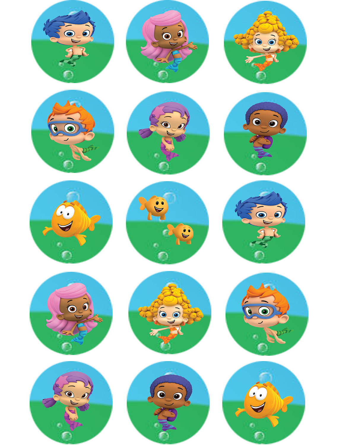 Image Result For Bubble Guppies Wallpapers