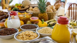 Buffet Breakfast High Quality Wallpaper