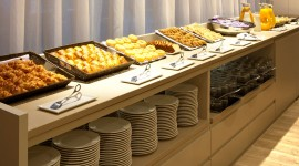 Buffet Breakfast Wallpaper