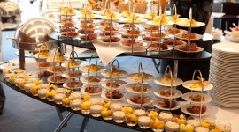 Buffet Breakfast Wallpaper Download Free