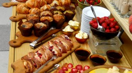 Buffet Breakfast Wallpaper For IPhone