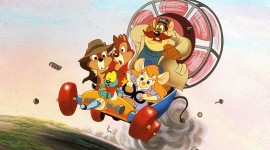 Chip 'N Dale Rescue Rangers Best Wallpaper