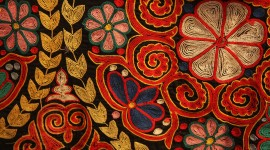 Embroidery Wallpaper Download
