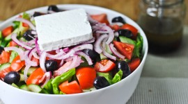 Greek Salad Desktop Wallpaper For PC