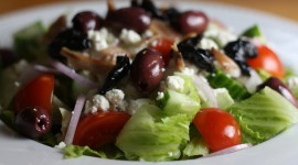 Greek Salad Desktop Wallpaper HD