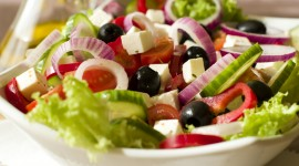 Greek Salad Wallpaper