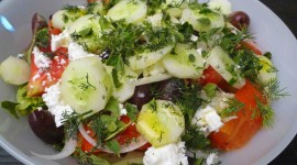 Greek Salad Wallpaper Download
