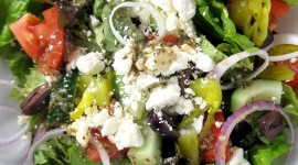 Greek Salad Wallpaper For Mobile