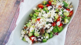 Greek Salad Wallpaper Free