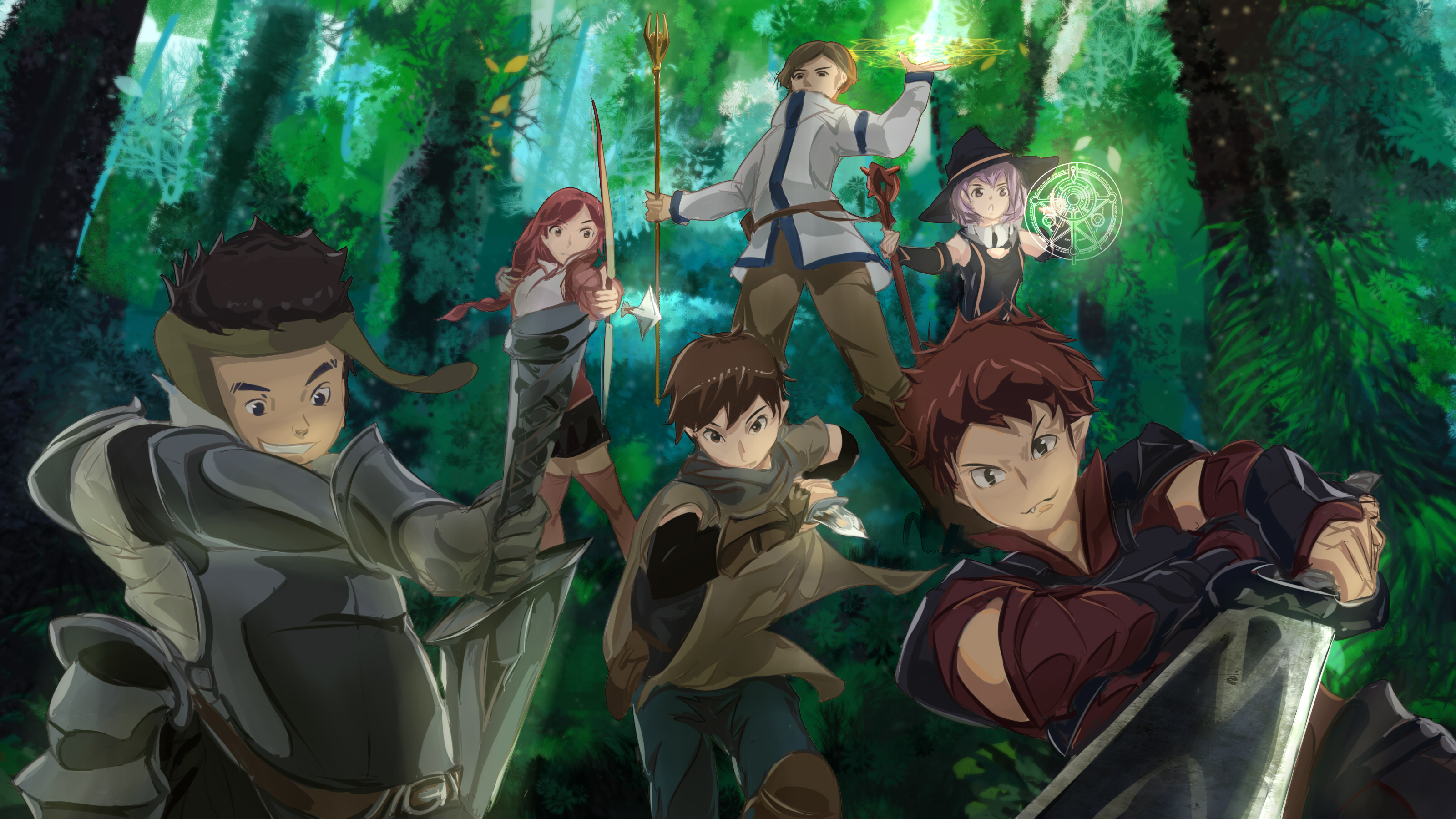 Hai To Gensou No Grimgar Best Wallpaper