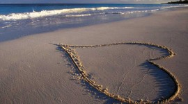 Love In The Sand Wallpaper Download