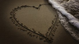 Love In The Sand Wallpaper Gallery