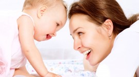Mother And Baby Wallpaper For PC
