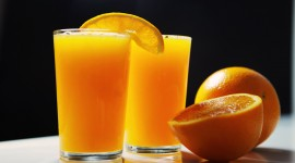 Orange Juice Wallpaper Free