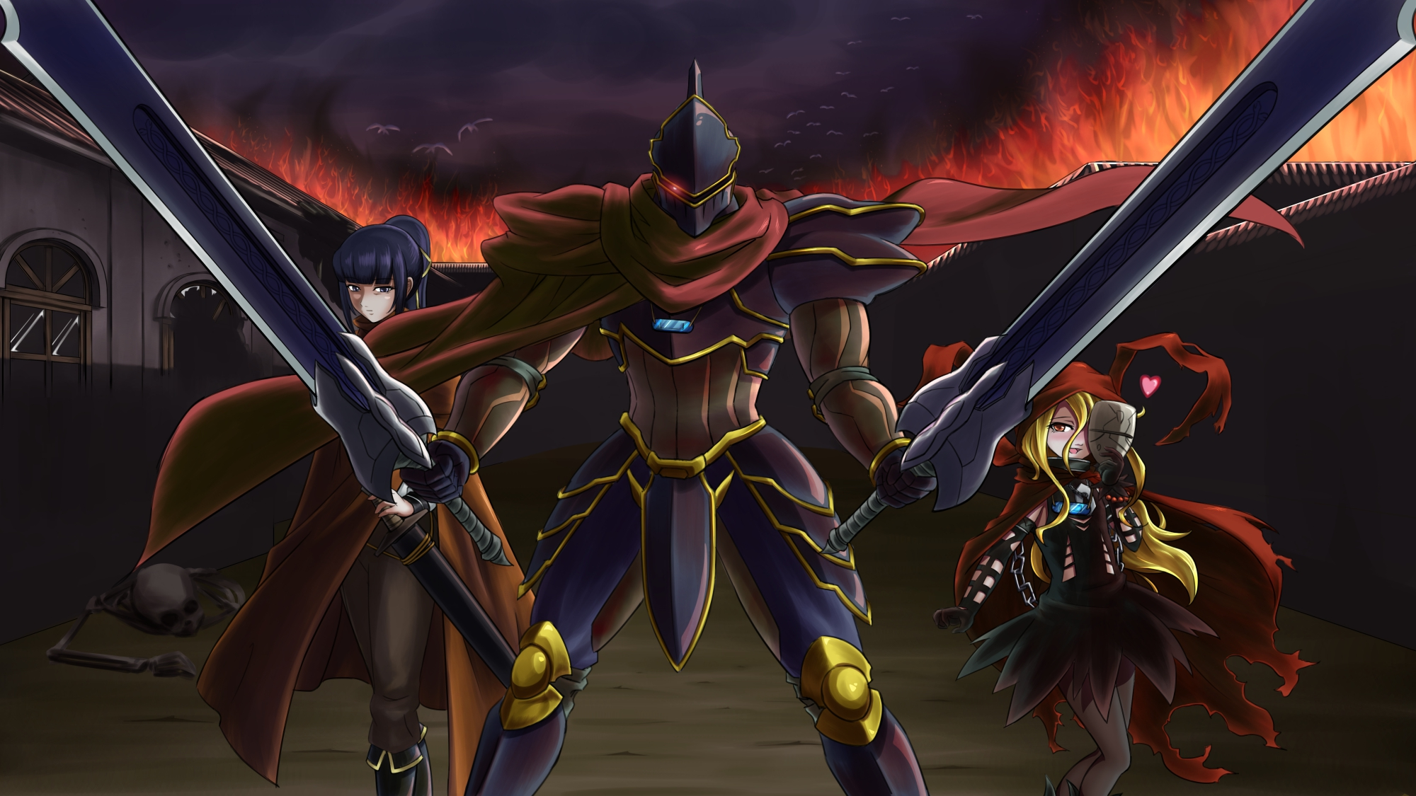 Downaload Overlord King And Warriors Art Wallpaper: Overlord Wallpapers High Quality
