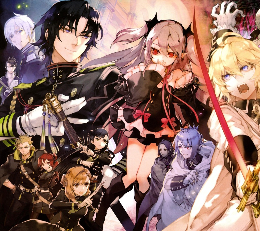 Owari No Seraph Wallpapers High Quality Download Free