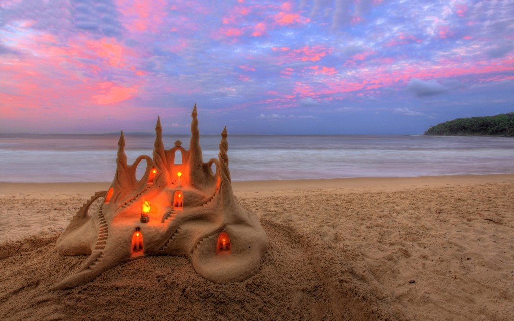 Sand Castles wallpapers HD