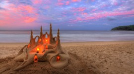 Sand Castles Best Wallpaper