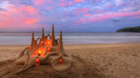Sand Castles wallpapers high quality