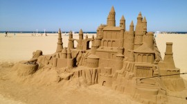 Sand Castles Photo Download