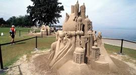 Sand Castles Photo Free