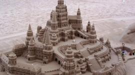 Sand Castles Photo Free#1