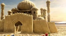 Sand Castles Wallpaper 1080p