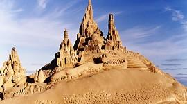 Sand Castles Wallpaper
