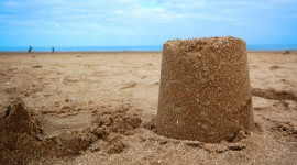Sand Castles Wallpaper Download