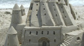 Sand Castles Wallpaper For Android
