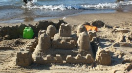 Sand Castles Wallpaper For Desktop