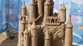 Sand Castles Wallpaper For IPhone