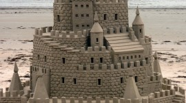 Sand Castles Wallpaper For Mobile