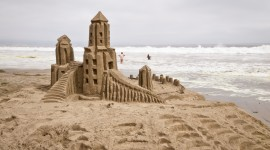 Sand Castles Wallpaper For PC