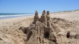 Sand Castles Wallpaper Full HD