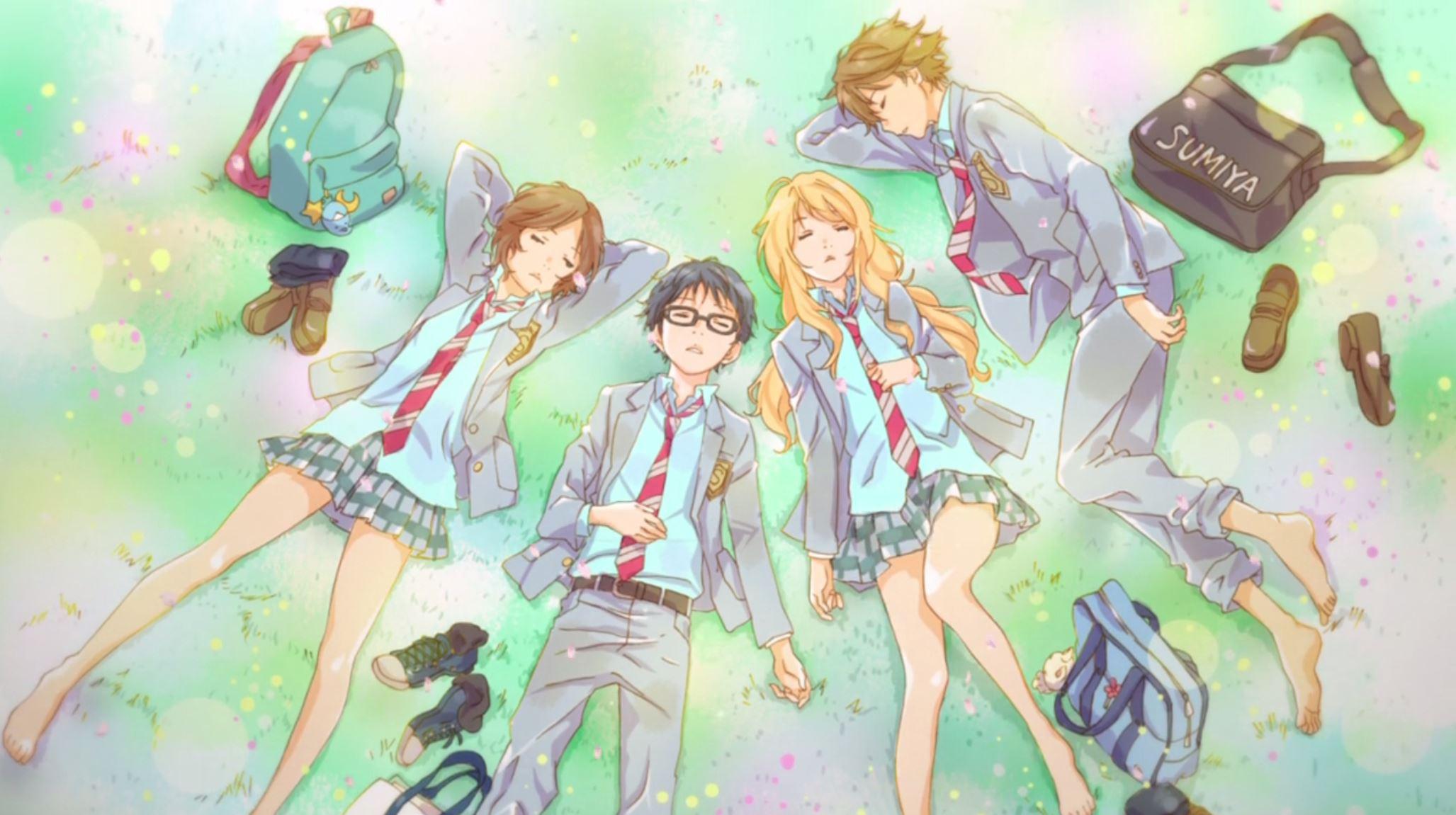 Shigatsu Wa Kimi No Uso Wallpapers High Quality Download Free