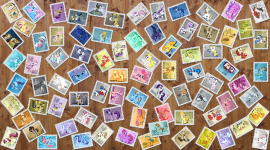 Stamps Wallpaper Download Free