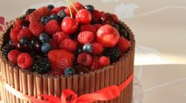 4K Berries In Chocolate Wallpaper 1080p
