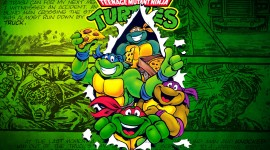 4K Ninja Turtles Image