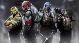 4K Ninja Turtles Wallpaper HQ#1