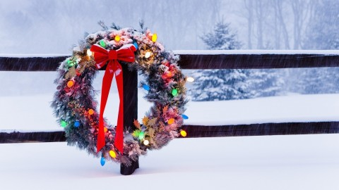 4K Wreaths wallpapers high quality